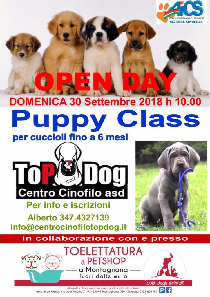 Open Day Top Dog Isola Ddegli Animali